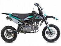 STOMP SS 120R PIT BIKE, FINANCE AVAILABLE, NEW, KIDS, ADULTS, CHILDS MOTORBIKE