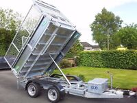 THE BEST VALUE NEW GALVANISED HEAVY DUTY TIPPING TRAILERS