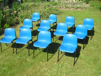 12 CHILDRENS STACKING CHAIRS