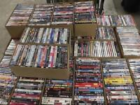 Pallets of Second hand DVDs