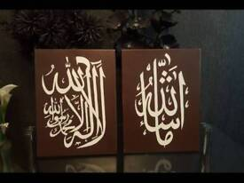 Islamic canvases
