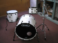 Mapex Saturn III drums, 3 piece kit