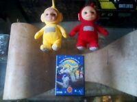 Teletubbies , Laa Laa & Po and DVD.