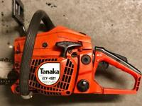 Tanaka 4501 chainsaw
