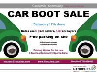 New Car Boot Sale Starting in Castlemilk, Glasgow