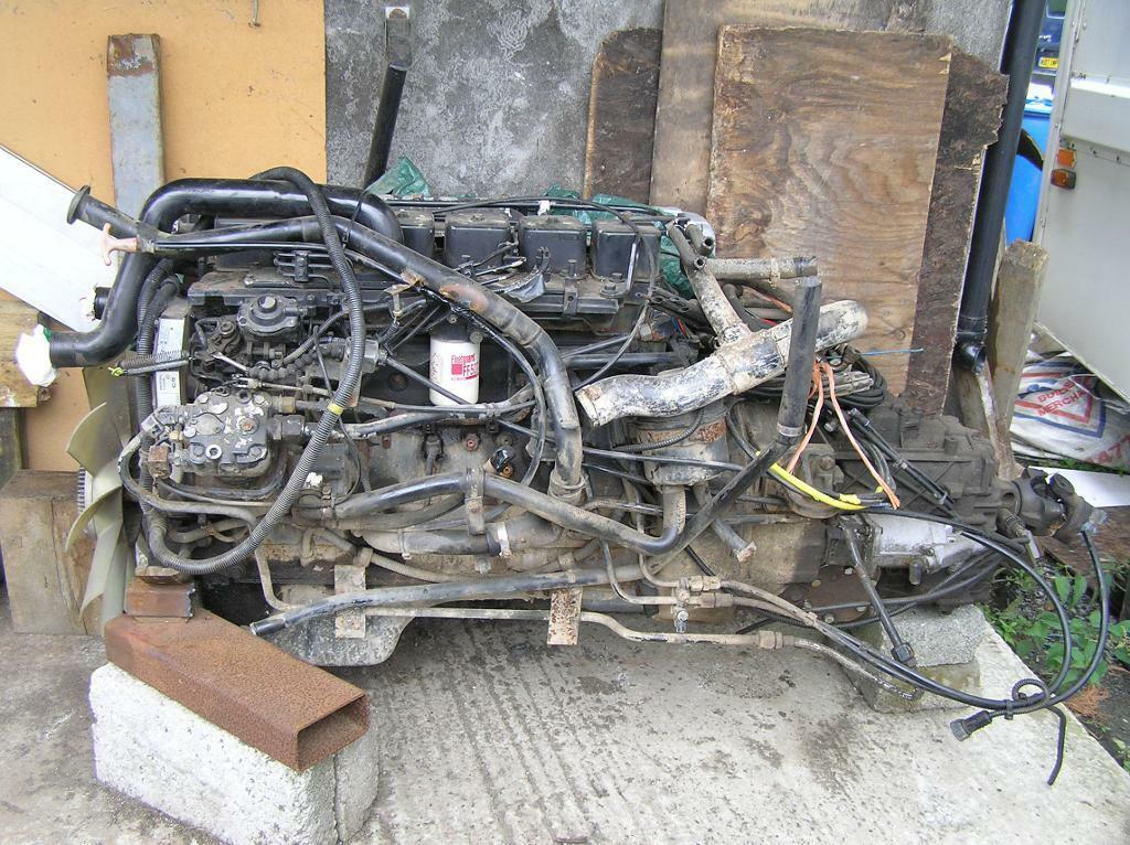 Leyland Daf 6bta cummins engine and gearbox