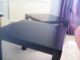Ikea Lack side tables. Black. Good condition. 2 tables