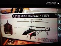Remote helicopter. Brand New boxed. Collect today cheap
