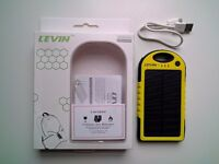 Levin 5000mAh Solar Charger / Power bank