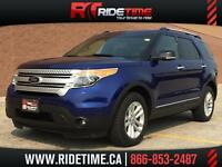 2013 Ford Explorer XLT 4WD - MyFORD Touch, 7 Passenger, Alloy's