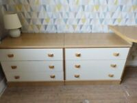 Bedroom Furniture Set Hygena - 5 Piece plus Desk (suitable for child or young person)