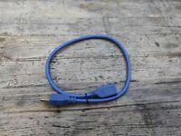 USB (2.0 + 3.0) cables + mono earphone