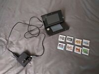 Nintendo 3DS Black with 7 top games! CHRISTMAS DEAL!