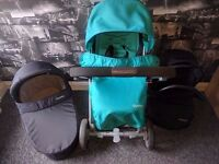 Oyster Travel System (pram, carrycot, car seat) *Belfast*
