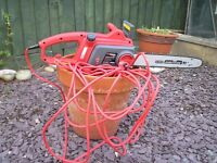 Sovereign chainsaw excellent condition -price reduced no offers