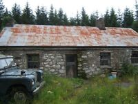200 year old Cottage on 1.5 acres of land in Ireland, Co Galway - £55,000
