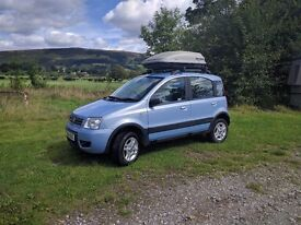 Fiat Panda 4x4 with LPG conversion! 56 plate