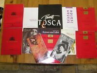 Opera and Concert Programme Collection
