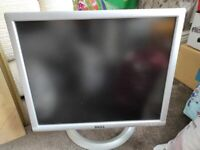 Dell PC Monitor. 2 USB port. Collect today cheap