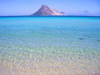 Sardinian Holidays. A little walk to the sea.