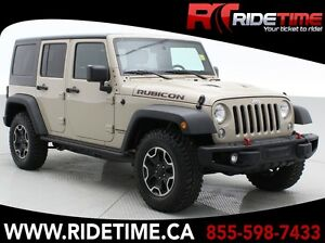 2016 Jeep Wrangler Unlimited Rubicon Hard Rock - Leather, Naviga