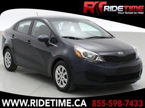 2014 Kia Rio LX+ Sedan - Heated Seats - ONLY $76 Bi-Weekly!