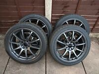 17in Multi-fit Wolfrace Alloy Wheels for Vauxhall Corsa C, D, Limited Edition, Ford Fiesta etc.