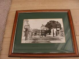 Old Poole photo in frame