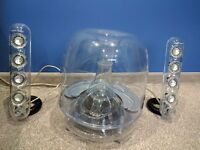 Harman/Kardon Soundsticks III Desktop Wired Speaker System - Transparent