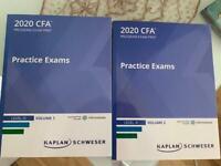 CFA L3 2020/2021 Practice Exams Kaplan Schweser