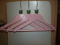 Kids Pretty Wooden Hangers