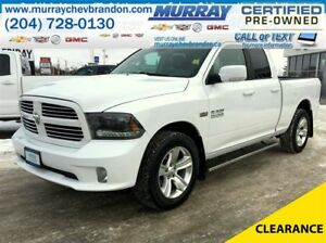 2015 Ram 1500 Quad Cab Sport 4WD *Backup Camera* *Heated Seats*
