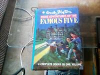 Famous Five by Enid Blyton - 4 Complete books in one Volume. Book.