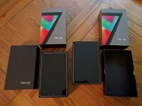Nexus 7 Tablets 32gb boxed (2 for sale)