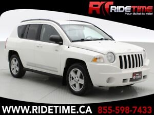 2010 Jeep Compass North 4WD - Automatic, Alloy Wheels