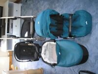 All In One Travel System, Pram, Push Chair & Car Seat