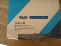 Ford radio M21 ( classic 2 wave band radio) brand new.