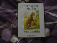 THE TALE OF MR TOD BEATRIX POTTER BOOK