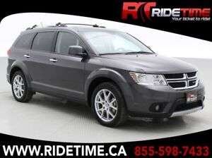 2017 Dodge Journey GT AWD - 7 Passenger, Rear DVD, Sunroof, Nav