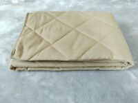 Versatile Quilted throw for bench, chair, sofa, garden furniture etc., 3 sizes