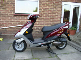 Motor Scooter 50cc 2 seater 4 stroke engine. New unused