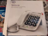BT telephone. Excellent quality. Brand new Packed. Collect today cheap