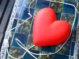 Red heart light