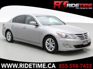2013 Hyundai Genesis 3.8L - Sedan, Leather, Sunroof, Alloy Wheel