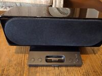 Sony SRSGU10IP 2 Channel iPod & iPhone Compatible Docking Speaker