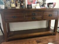 Hall table/sideboard/console table