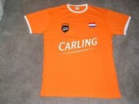 2014 Football World Cup T Shirts Holland & Germany (Carling)