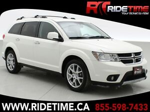 "2013 Dodge Journey R/T AWD - Leather, 8.4"" Touchscreen w/ Uconne"