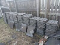 Sandtoft modern grey roof tiles used approx 190