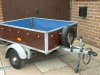 Utility / Camping Trailer with Jocky Wheel, Independent Suspension, Spare Wheel, Tail Gate & Cover